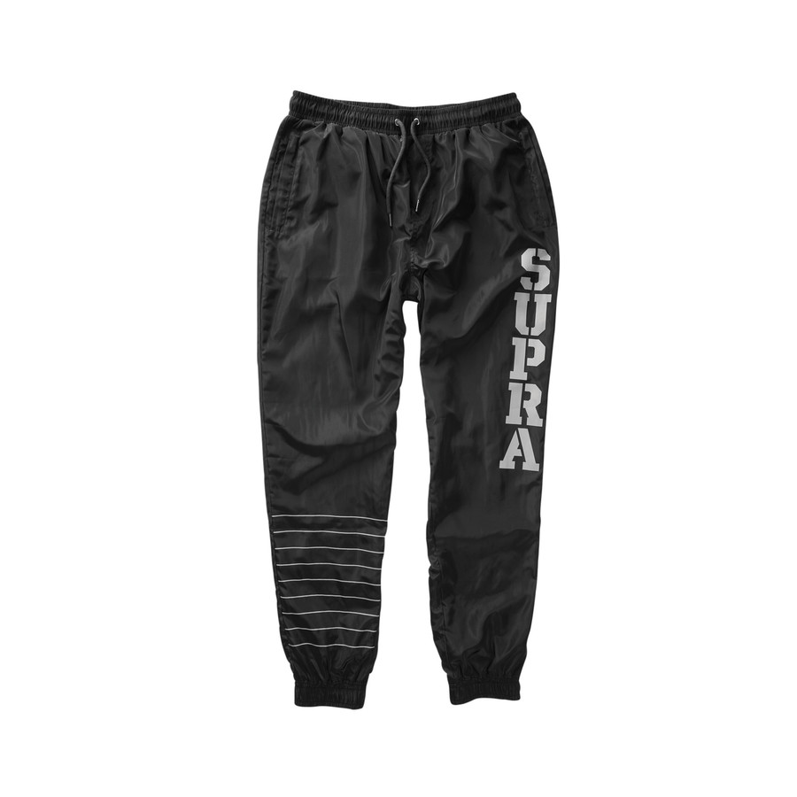 画像1: SUPRA APPAREL : DASH TRACK PANT : BLACK