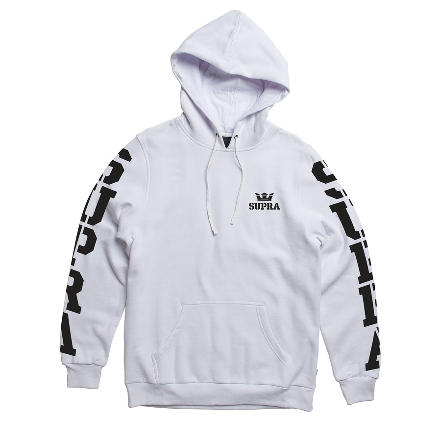 画像1: SUPRA APPAREL : MAJOR PULLOVER : WHITE