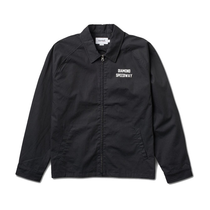 画像1: DIAMOND SUPPLY CO. : SPEEDWAY JACKET : Black