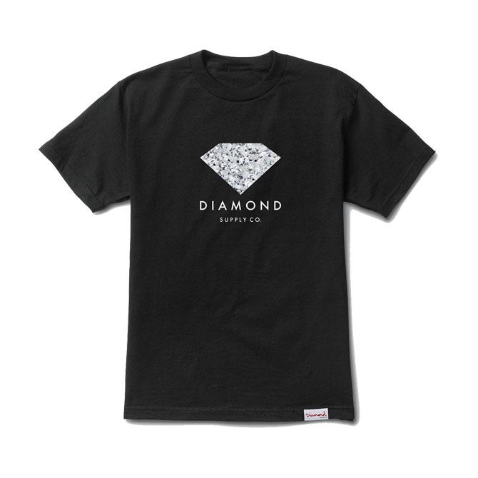 画像1: DIAMOND SUPPLY CO. : INFINITE TEE : Black