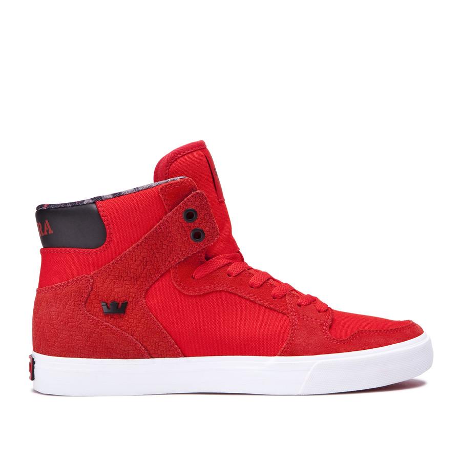 画像1: SUPRA FOOTWEAR : VAIDER : RED - WHITE