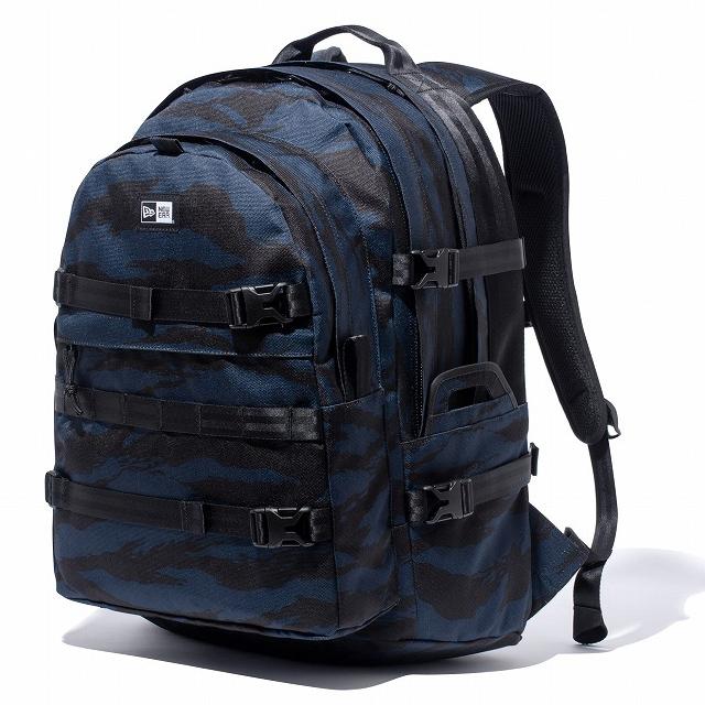 画像1: NEWERA : Carrier Pack キャリアパック タイガーストライプカモ ネイビー