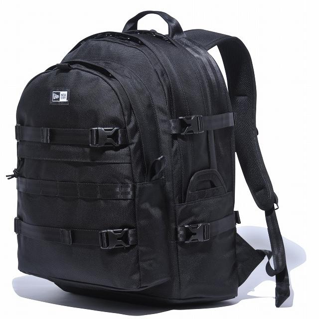 画像1: NEWERA : Carrier Pack キャリアパック ブラック ホワイトロゴ