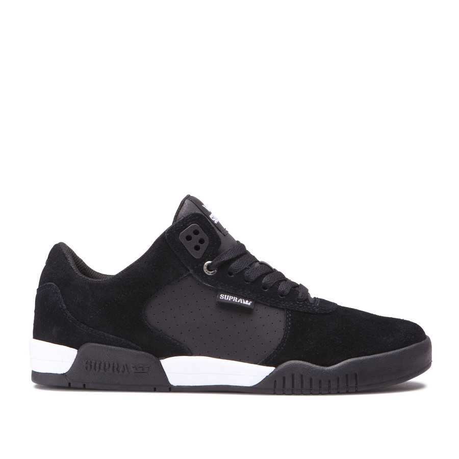 画像1: SUPRA FOOTWEAR : ELLINGTON : BLACK/WHITE-BLACK