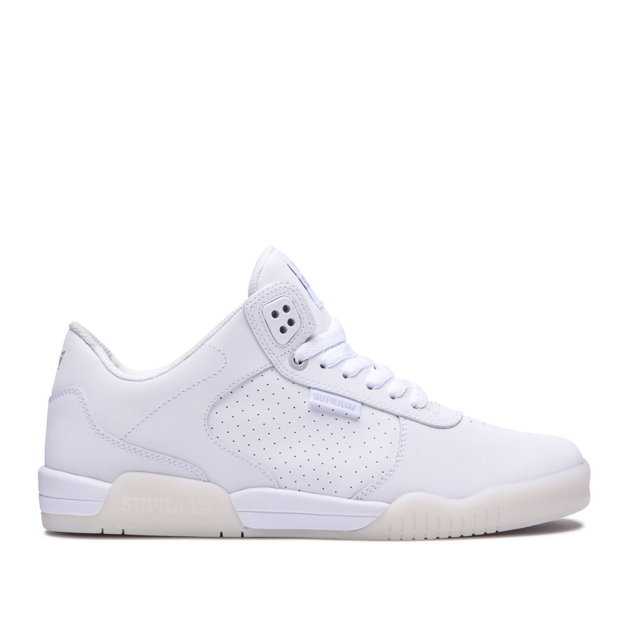 画像1: SUPRA FOOTWEAR : ELLINGTON : WHITE-WHITE