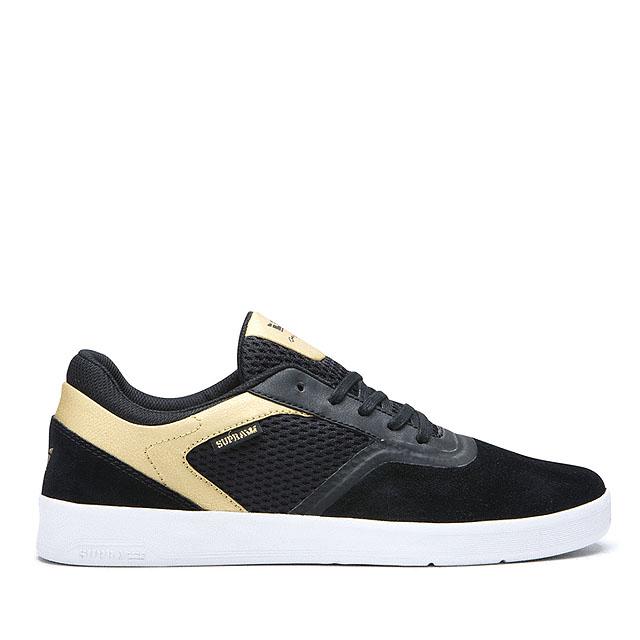 画像1: SUPRA FOOTWEAR : SAINT : BLACK x GOLD