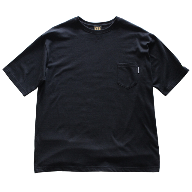画像1: BROOKLYN PROJECTS : BEER POCKET TEE : BLACK