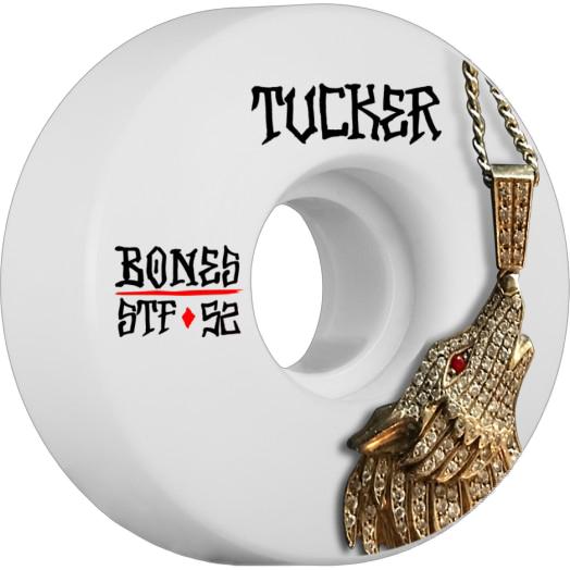 画像1: BONES WHEELS : STF Pro Tucker Wolf Skateboard Wheel V1 52mm 103A 4pk