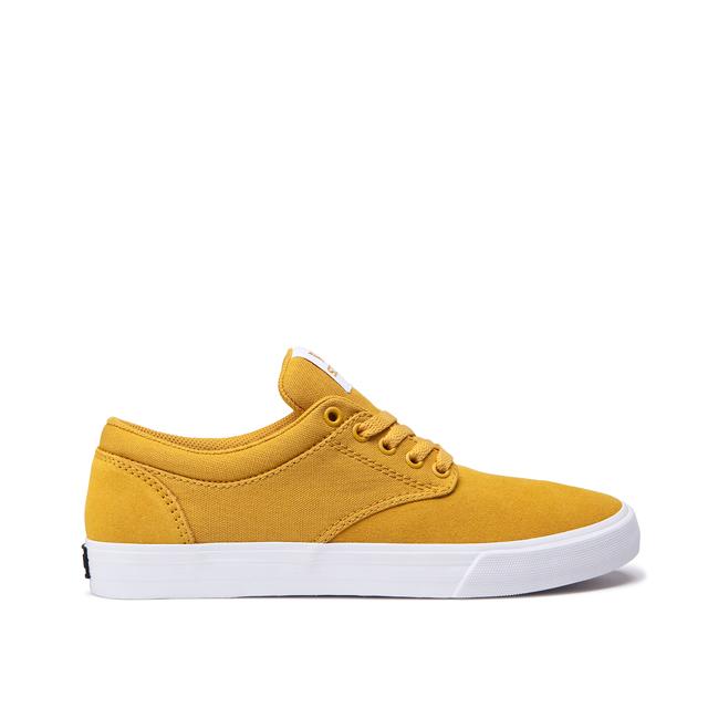 画像1: SUPRA FOOTWEAR : CHINO : GOLDEN - WHITE