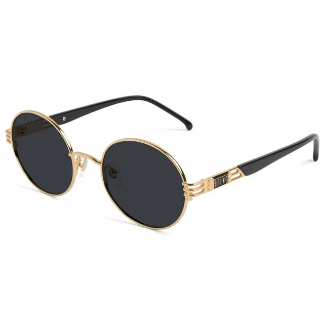 画像1: 9 FIVE : IRIS Black & 24k Gold Shades
