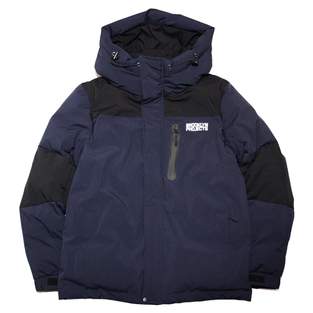 画像1: BROOKLYN PROJECTS : BP DOWN JACKET 01 : NAVY x BLACK