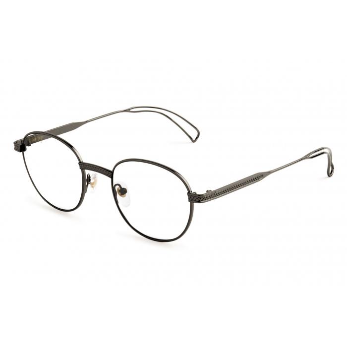 画像1: 9 FIVE : DIME Gunmetal Clear Lens Glasses