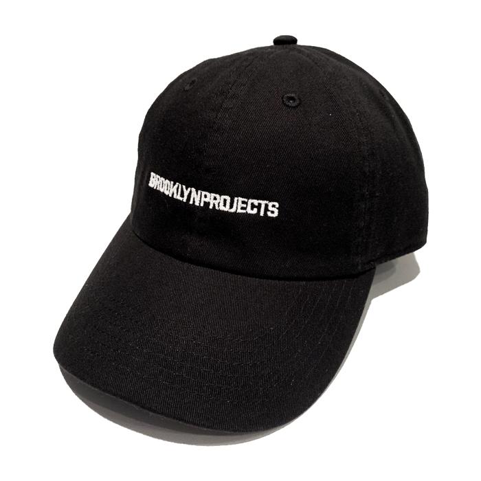 画像1: BROOKLYN PROJECTS : LOGO CAP 03 : BLACK