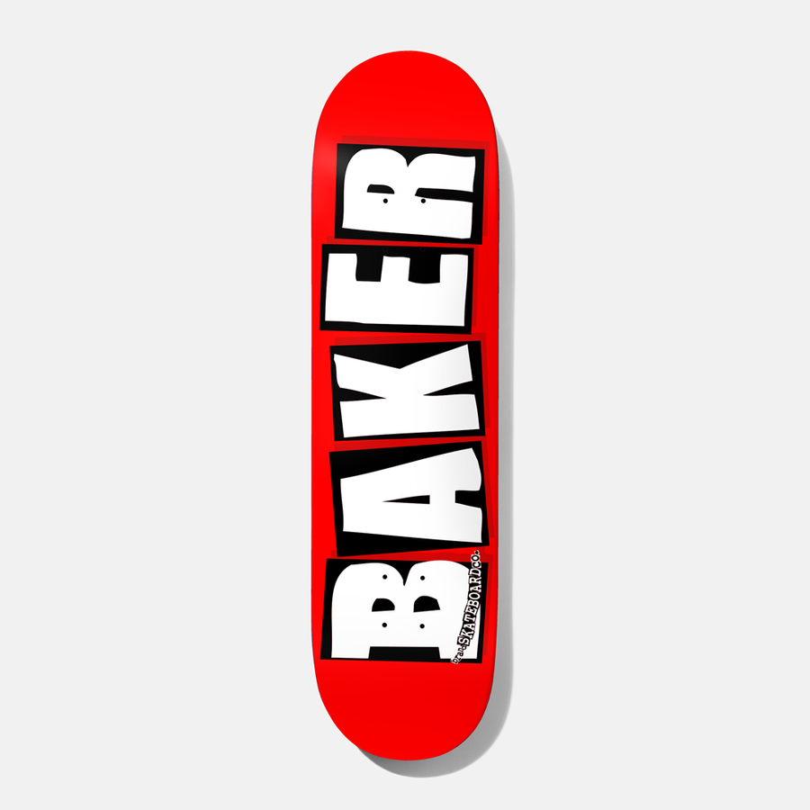 画像1: BAKER : BRAND LOGO 8.0 : RED x WHITE