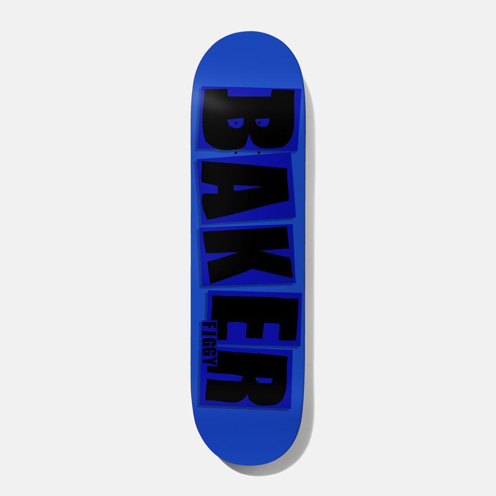 画像1: BAKER : FIGGY BRAND NAME 8.125 : BLUE x BLACK