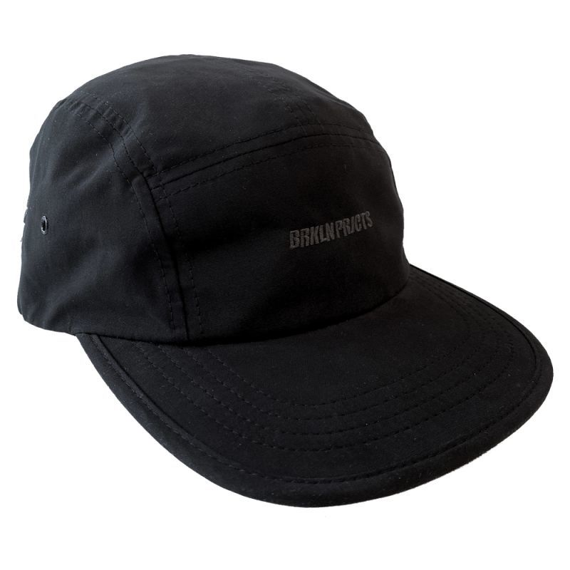画像2: BROOKLYN PROJECTS : LOGO CAMP CAP : BLACK
