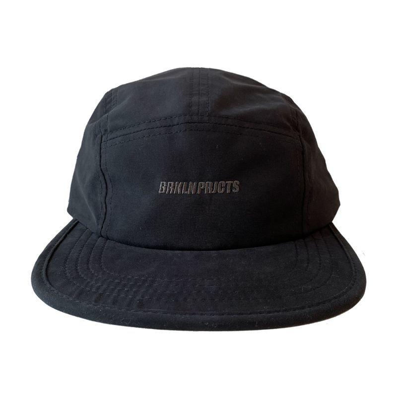 画像1: BROOKLYN PROJECTS : LOGO CAMP CAP : BLACK