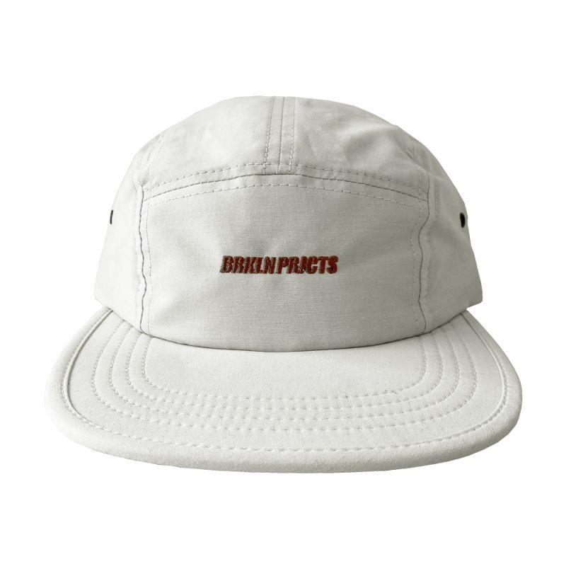 画像1: BROOKLYN PROJECTS : LOGO CAMP CAP : OFF WHITE