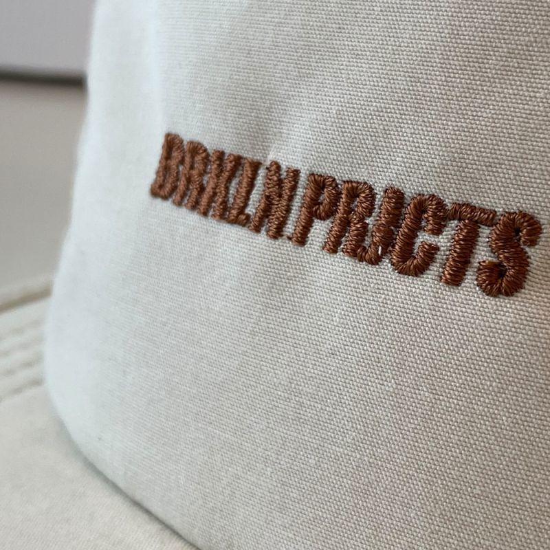 画像3: BROOKLYN PROJECTS : LOGO CAMP CAP : OFF WHITE