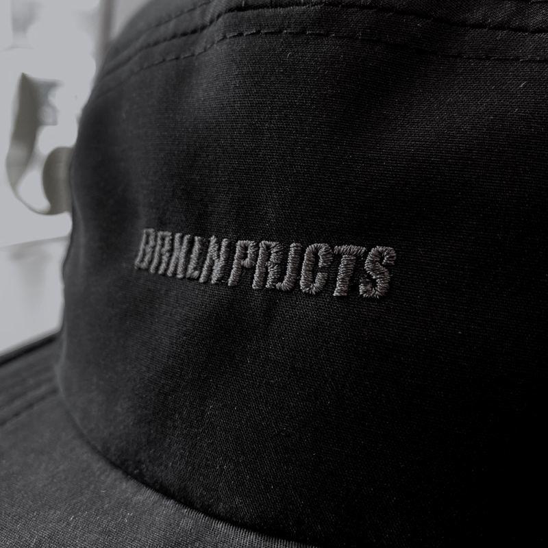 画像3: BROOKLYN PROJECTS : LOGO CAMP CAP : BLACK