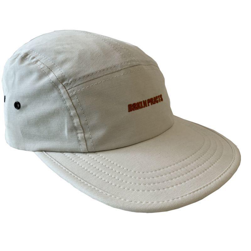 画像2: BROOKLYN PROJECTS : LOGO CAMP CAP : OFF WHITE