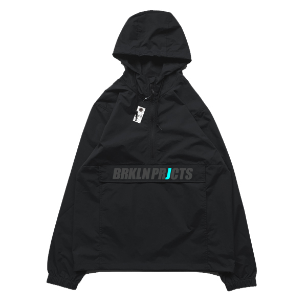 画像1: BROOKLYN PROJECTS : 3rd Anorak Jacket : Black