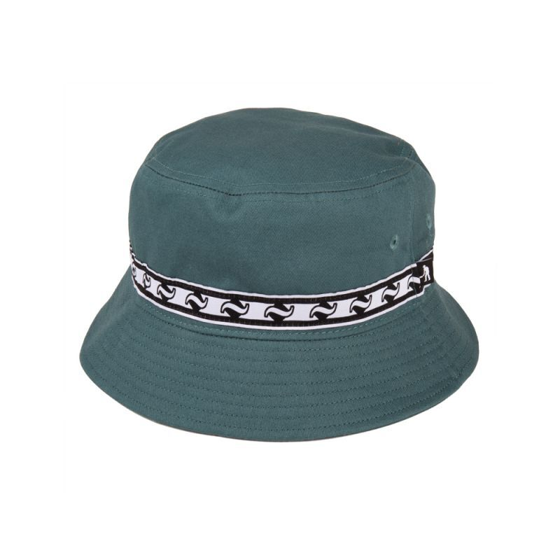 画像1: PASS〜PORT - TILDE BAND BUCKET CAP MOSS